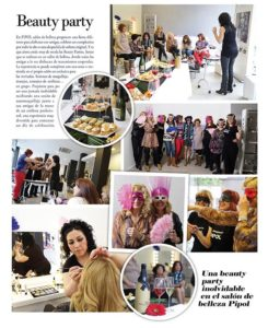 beauty party Valladolid pipol