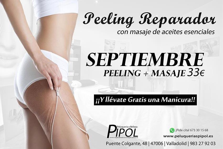PEELING CON MASAJE MANICURA DE REGALO